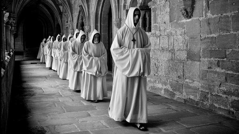 Effet d'un office des moines de l'abbaye d'Hauterive